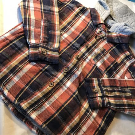 18-24 Month Lumberjack Shirt With Hood